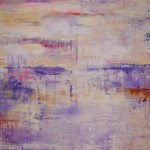 "Lavendar Mist I 40"" x 50"" I Mixed media on canvas"