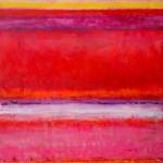 "Rio De Janeiro I 56"" x 42"" I  Acrylic and oil on Canvas"