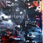 I Am A Love Poem | 66'' x 84'' | Acrylic on Canvas