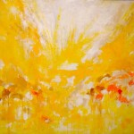 "Sunrise I 85"" x 87"" I Acrylic on Canvas"