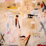 "The One Love #2 I 56"" x 76"" I Mixed Media on Canvas SOLD"