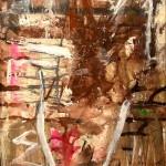 Splash 92'' x 46'' Mixed Media on Canvas